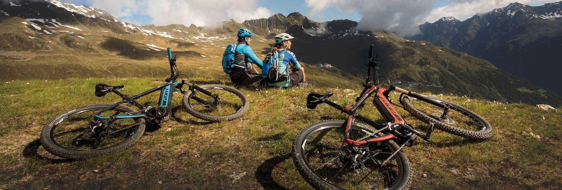 Rental prices for mountain bikes, e-bikes, road bikes - bicycles