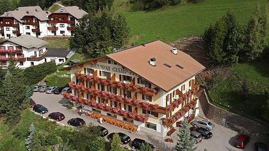 Hotel Pension Ciamp - S. Cristina Val Gardena