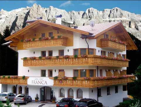 Hotel Garni Franca - Wolkenstein in Gröden