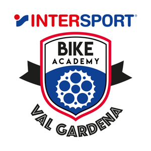 Logo Intersport Bike Academy Val Gardena