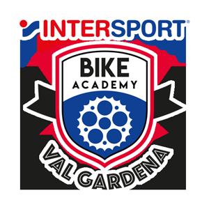 Logo Intersport Bike Academy Val Gardena