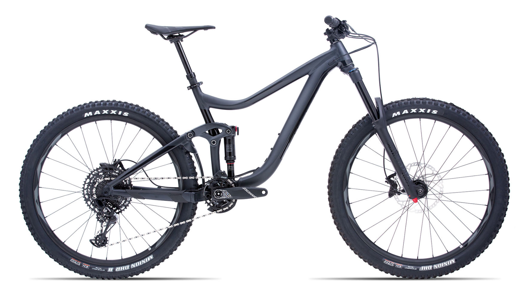 Giant enduro full suspension bike, 160mm travel, Maestro damping frame