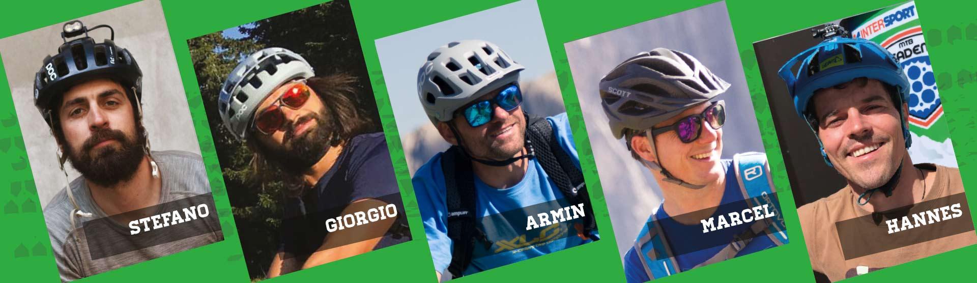Bike guide - bike instructor. Intersport bike academy val gardena
