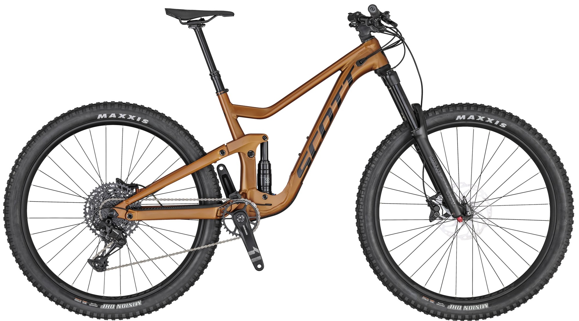 Giant enduro full suspension bike, 170mm travel, Maestro damping frame