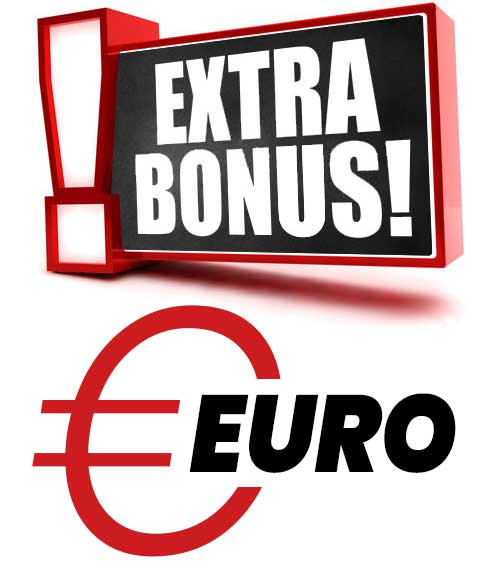 EXTRA Bonus Euro - shopping Voucher