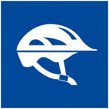 casco bici icon