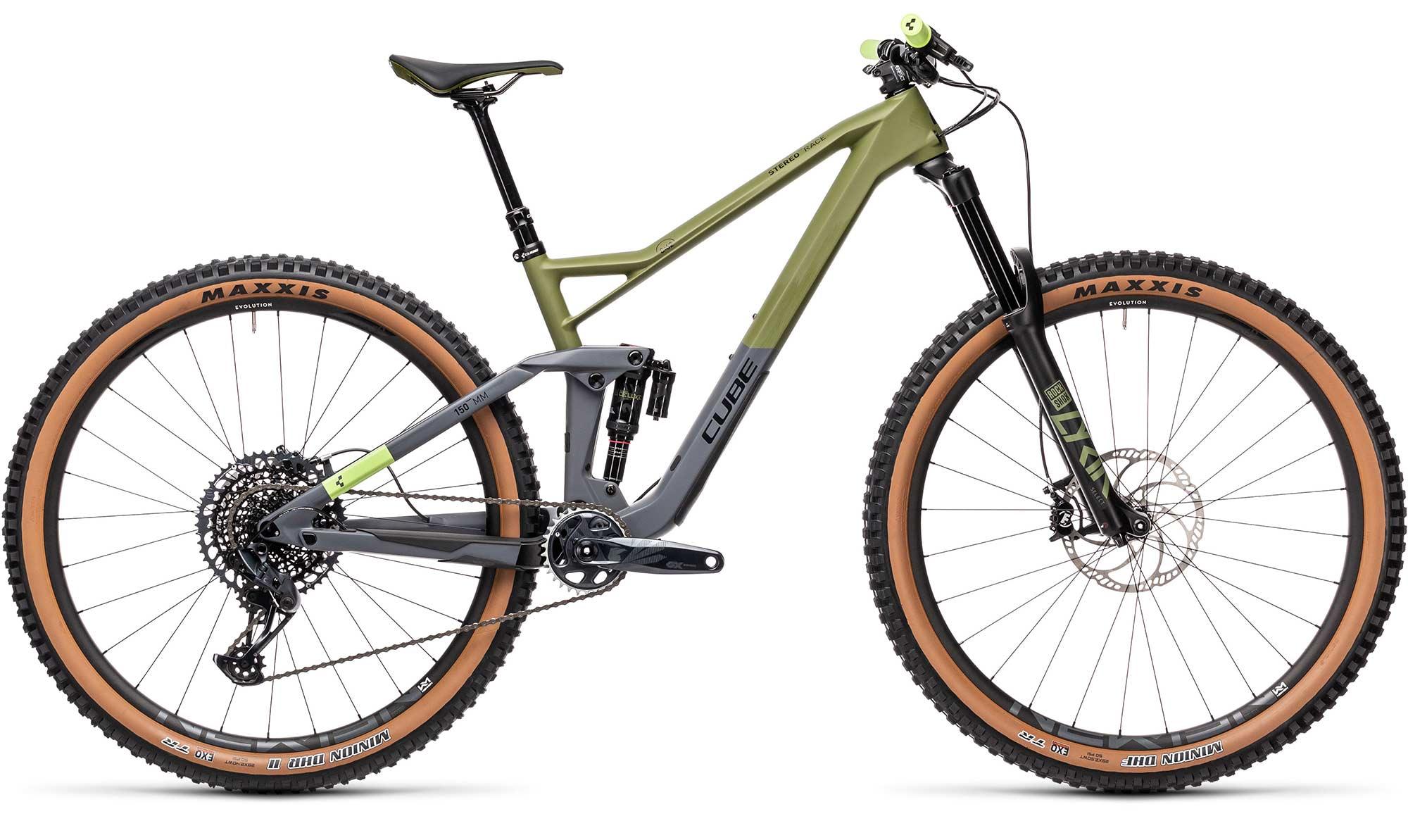 Giant full suspension enduro bike Trance 2, Maestro frame