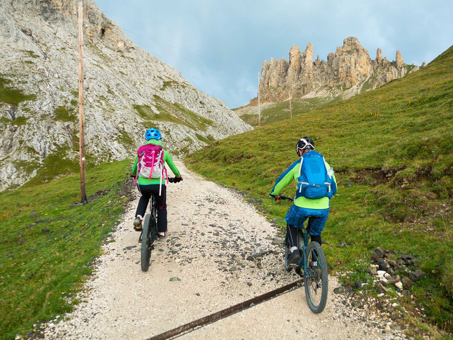Val Duran mtb tour - alpe di Siusi / val di fassa