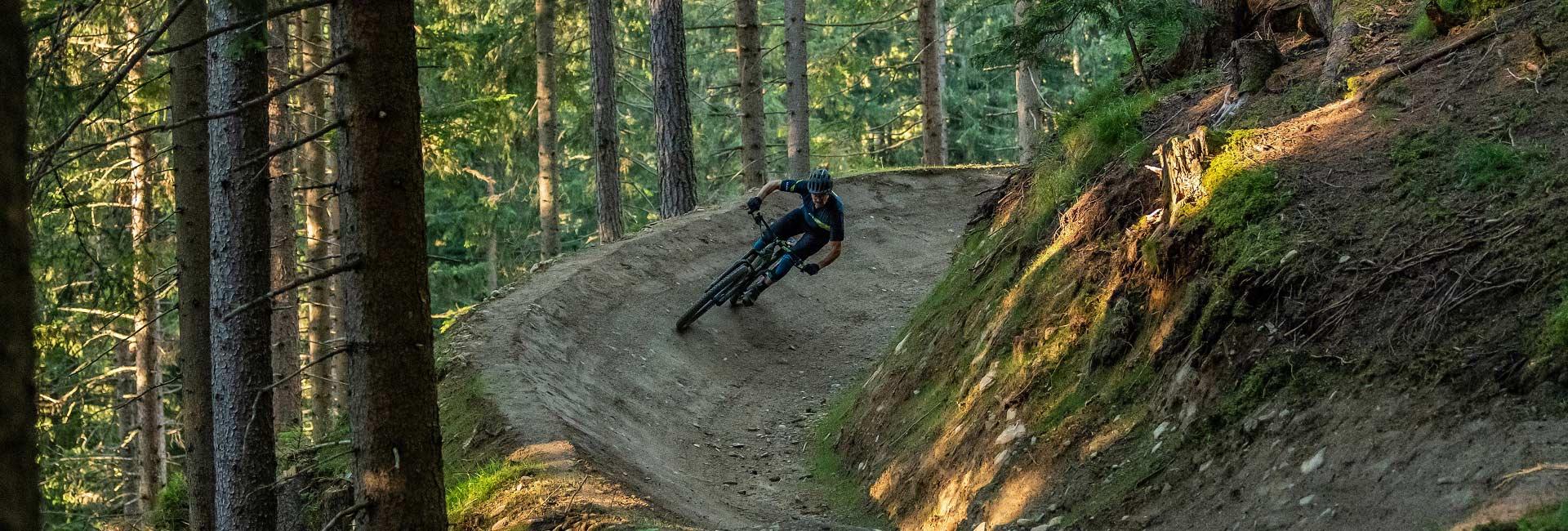 mtb flow trails in Val Gardena - plan de gralba
