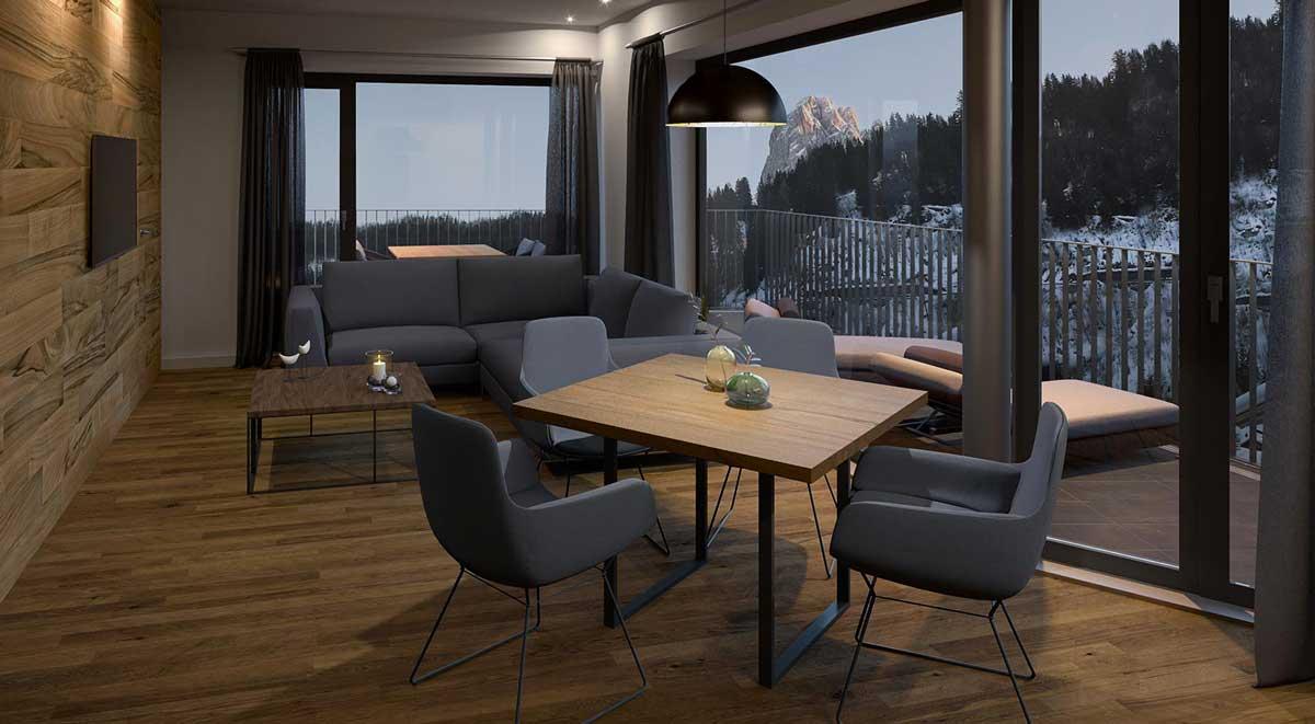Apartment Sunela - Wolkenstein in Gröden
